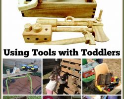 Exploring Wood and Tools – Ideas & Inspiration for all Ages AND a Q Toys Giveaway!