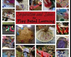 A month of inspiration & ideas for play based learning!