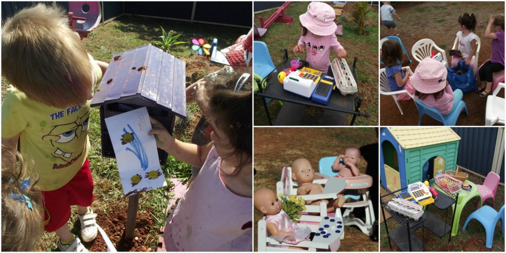 Use these easy tips, strategies and activity ideas to create more opportunities for dramatic play in the outdoor learning environment. Helpful information for both early childhood educators and parents!
