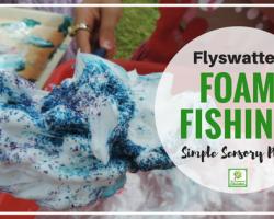Foamy Flyswatter Sensory Play