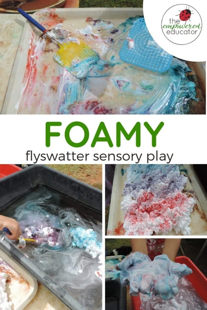 foamy flyswatter sensory play pinterest 1