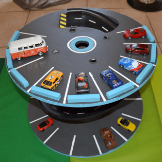 Repurpose Wooden Spools And Cable Reels For Play