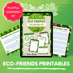 Eco Friends Printable Pack THUMBNAIL 1
