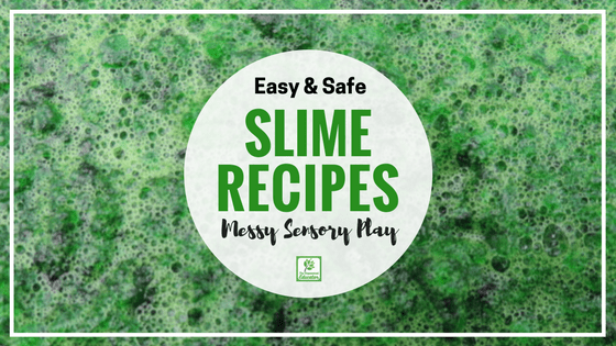 5 easy slime recipes non toxic for babies and toddlers you dont need to source a big list of materials and follow complicated directions ccuart Gallery