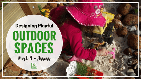 Designing outdoor play spaces easy ideas for educators for Design outdoor space online