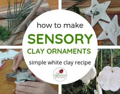 Sensory Clay Nature Ornaments