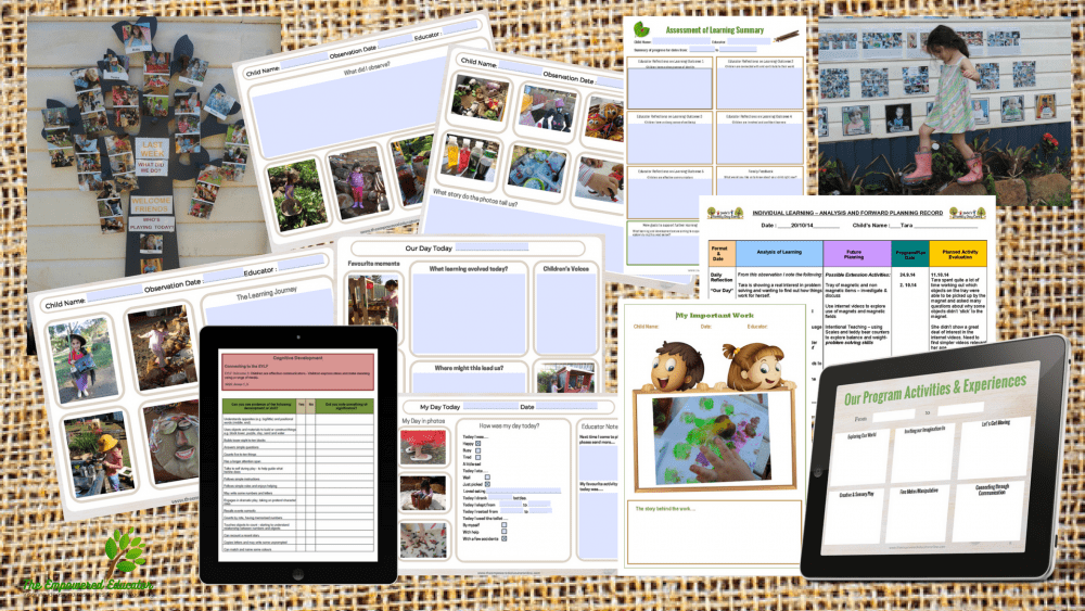 In this educator organisation series you can download a free mini organiser to help you plan a simple step by step system to meet paperwork and documentation requirements yet still save valuable time! See all of the tips, tools and strategies for early years educators and homeschool here!!