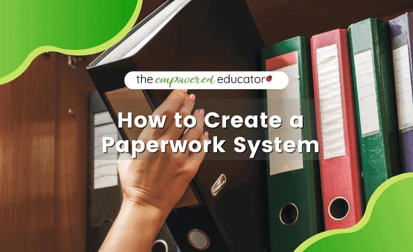 paperwork system