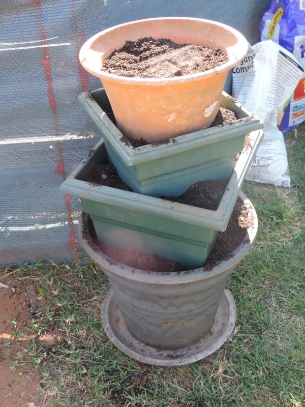 Small Water Garden Needs No Electricity Just Place Pots: How To Make A Recycled Sensory