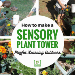 Gardening with Children – Make a Sensory Plant Tower!