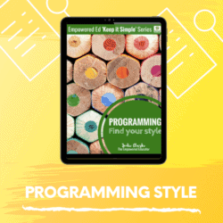 Simplify Your Programming System
