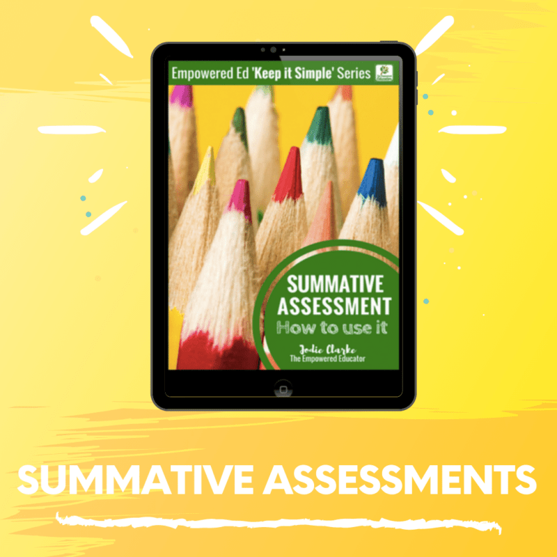 Summative Assessments – The Basics