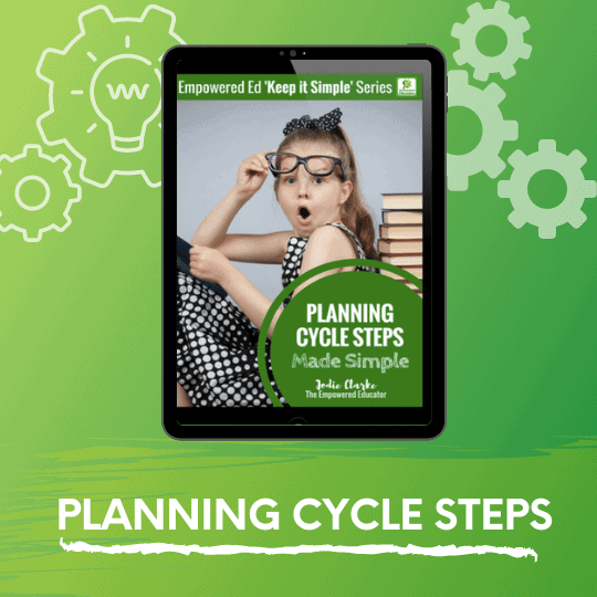 The Planning Cycle Steps Made Simple