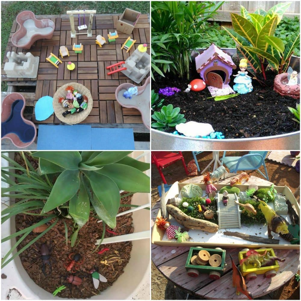Whether you are just modifying or designing outdoor play spaces from scratch you are going to encounter challenges - the simple solutions in this post to will help you jump over the problems and create your ideal outdoor learning environment! Click to see the whole collection of easy ideas and real examples to try.