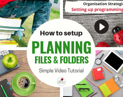 Learn how to save time on educator paperwork by organising programming folders and files. Watch the video & download the cheatsheet to see how easy it is!