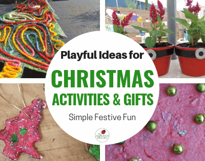 Simple Christmas Activities for Children.