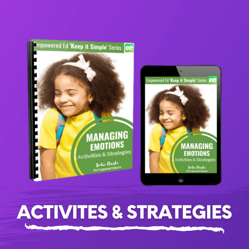 activites and strategies managing emotions