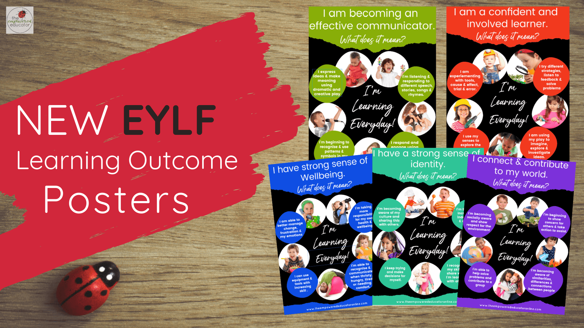 Print & display these eye catching EYLF outcome posters to help you explain to families the benefits of 'just play' andwhat theEYLF learning outcomes really mean! Perfect teacher resource for all early childhood educators #teacherresource #familydaycare #eylf #teacherprintable #eylftemplate