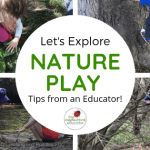 Nature-based Play -Where are all the toys?