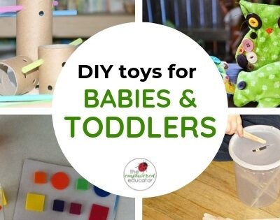DIY toys for babies and toddlers feature