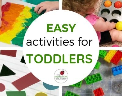 Easy Toddler Activity Ideas for Educators