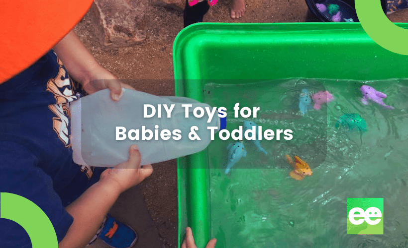 DIY toys for babies and toddlers