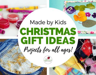 Christmas Presents Children Can Make