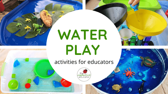 Initiate conversations with children about using water responsibly as you try out these water play activity ideas. Easy ideas for educators & parents!
