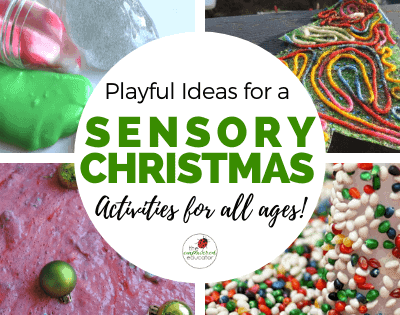 Sensory Christmas Play Ideas