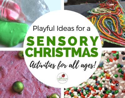 Sensory Christmas Play Ideas