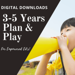 3-5 Years/Preschool