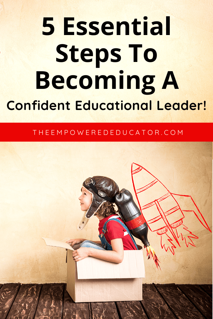 5 steps to becoming a confident ed leader