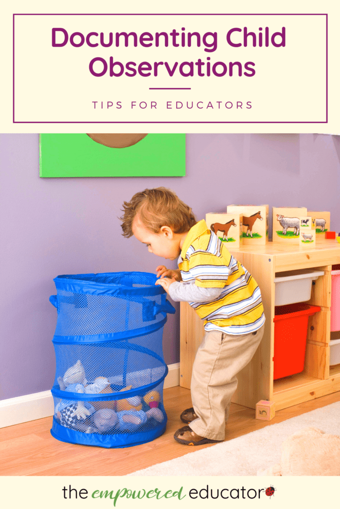 Use these examples and simple steps to better understand how you can write childcare observations using different methods & templates!