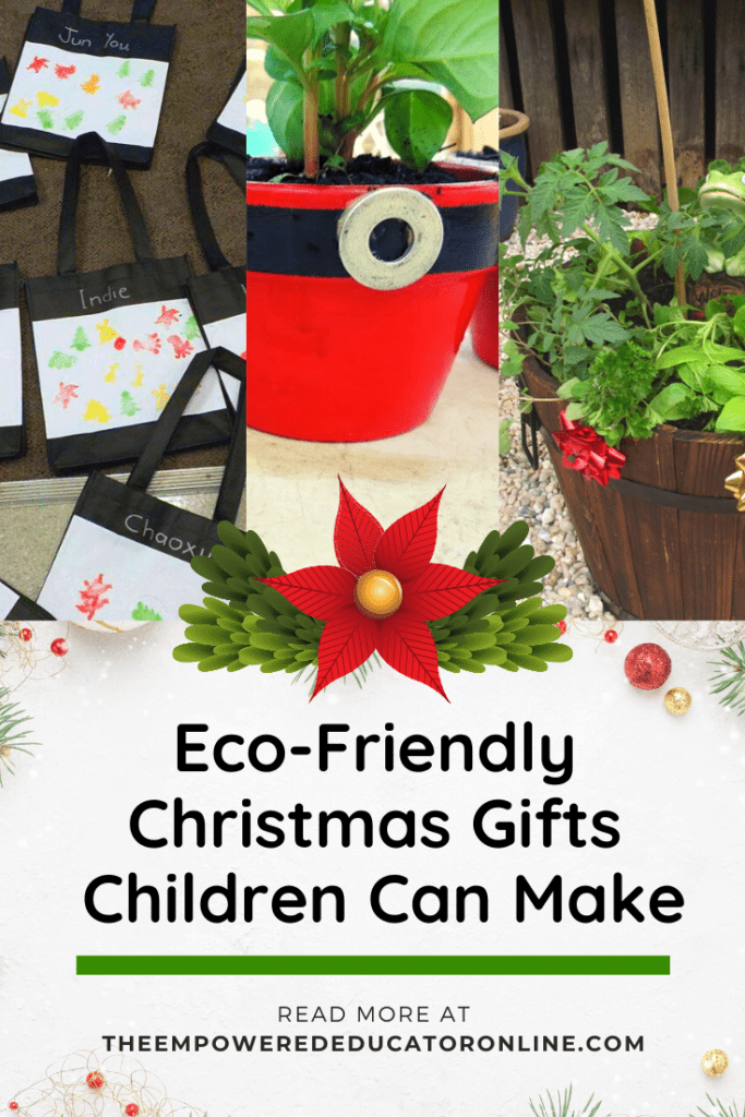 eco-friendly christmas gifts children can make