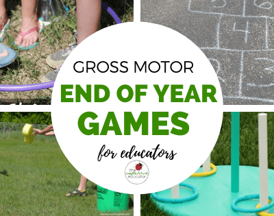 Simple Gross Motor Games for Children