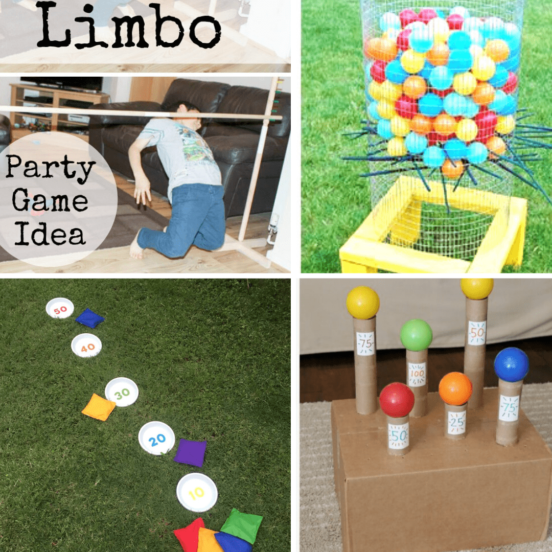 Use one of the simple game ideas for children in this collection from around the web to encourage gross motor play, coordination & teamwork!
