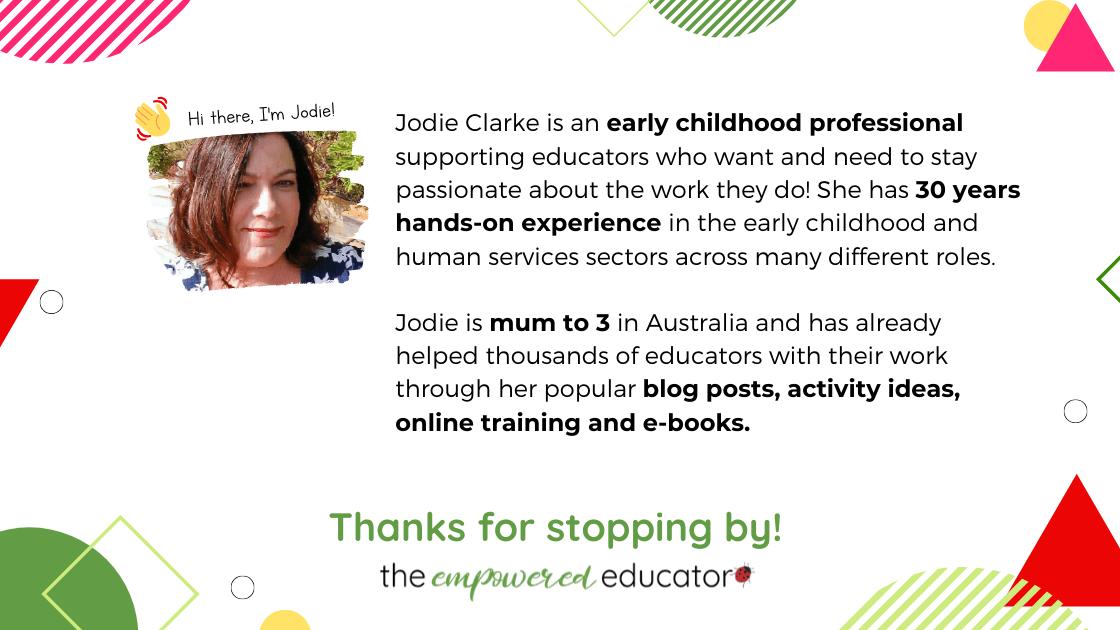 jodie clarke about
