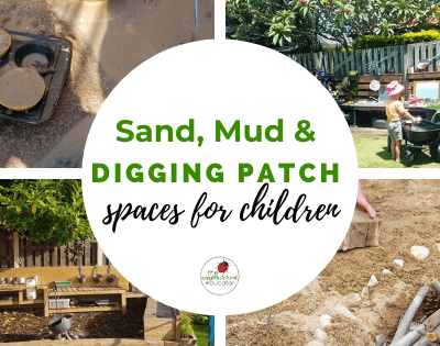 sand mud and diggin patch spaces