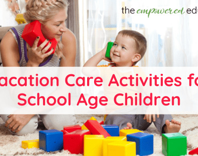 How to keep older kids busy in the holidays – Easy Activity Ideas for Vacation Care and Camp