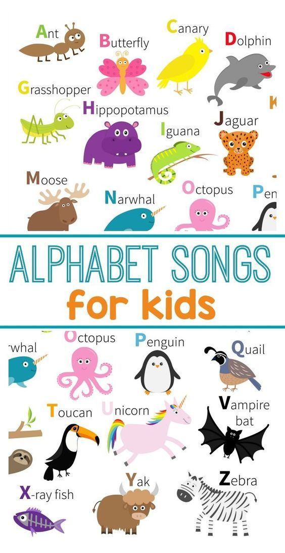 ABC songs and finger plays for early learning