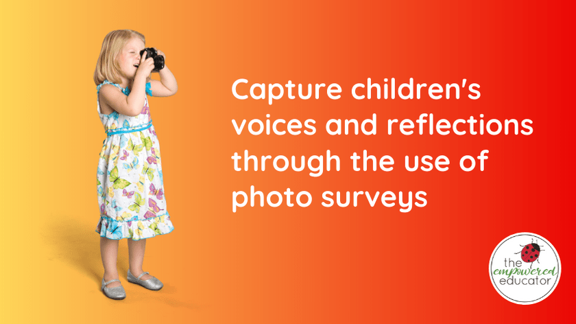 Weekly Photo Survey for children