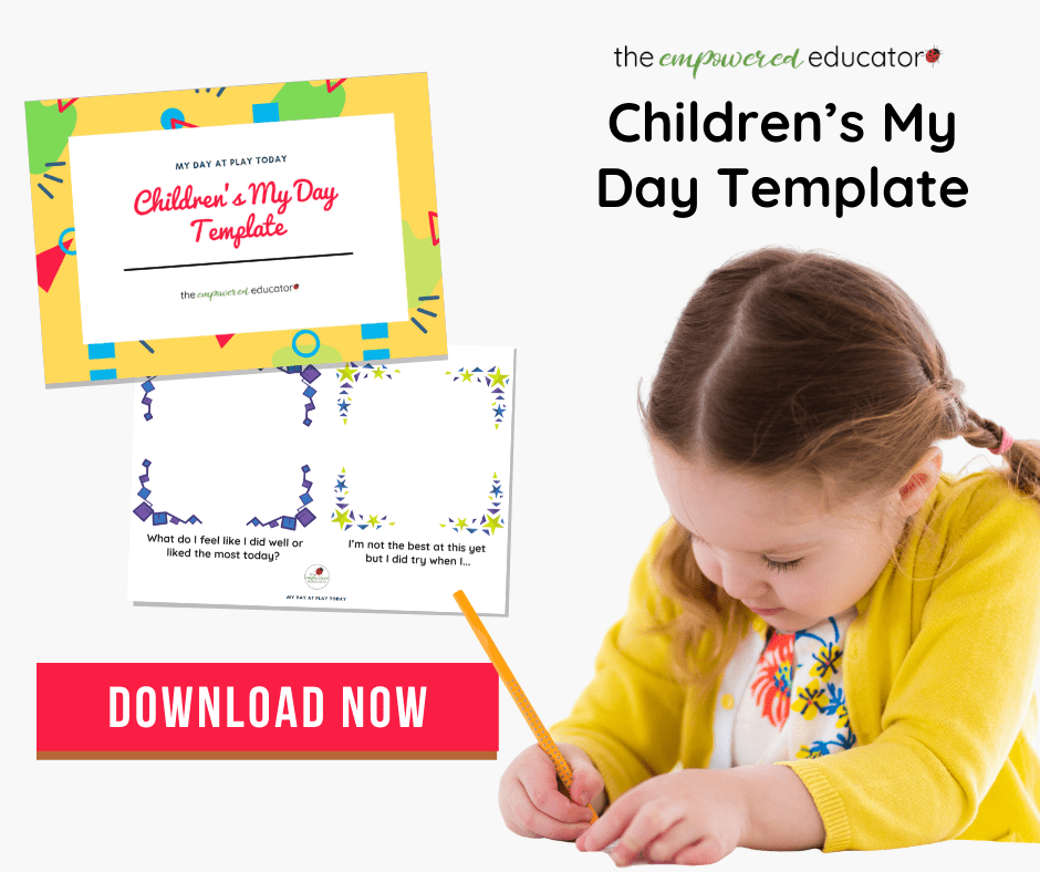 children my day template free download