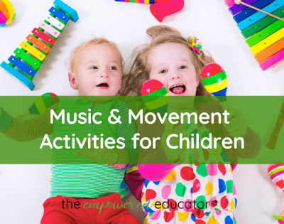 music and movement activities for children