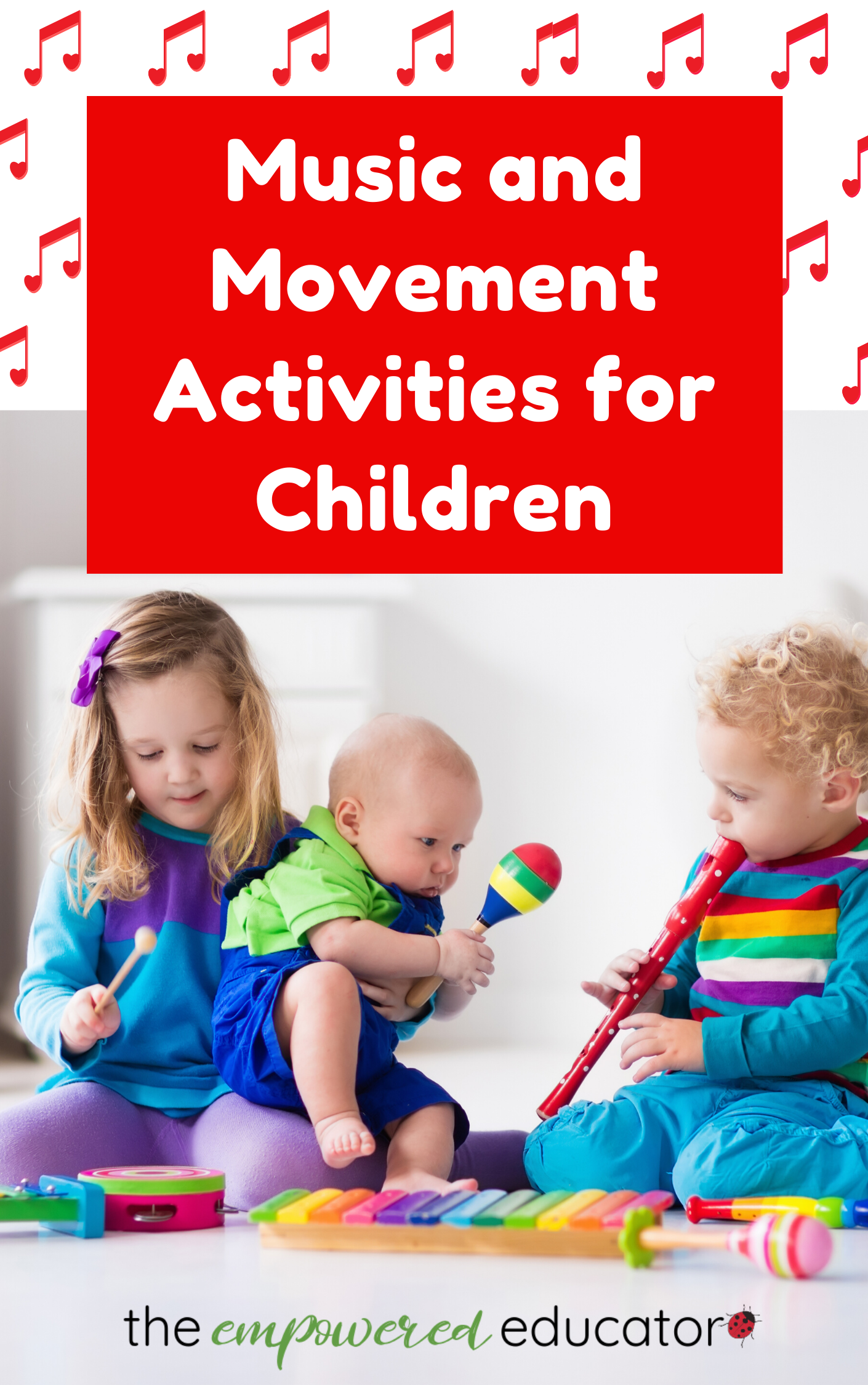 music and movement activities for children pin