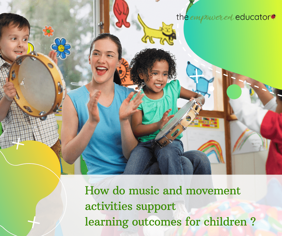 music and movement learning outcomes for children
