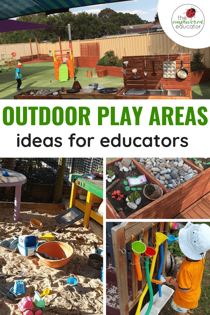 outoor play areas and backyard designs for early years educators
