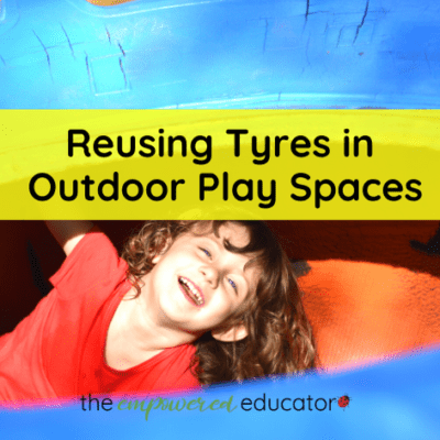 Reusing Tyres in Outdoor Play Spaces
