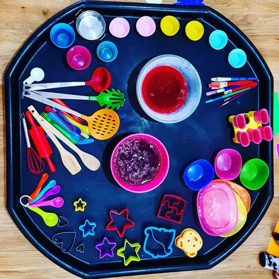 Tuff Spot Tuff Tray ideas to invite playful learning