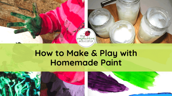 The Empowered Educator shares 17 Easy Play and Learning Ideas for Home - perfect for early childhood educators, teachers, daycare, parents and homeschool!