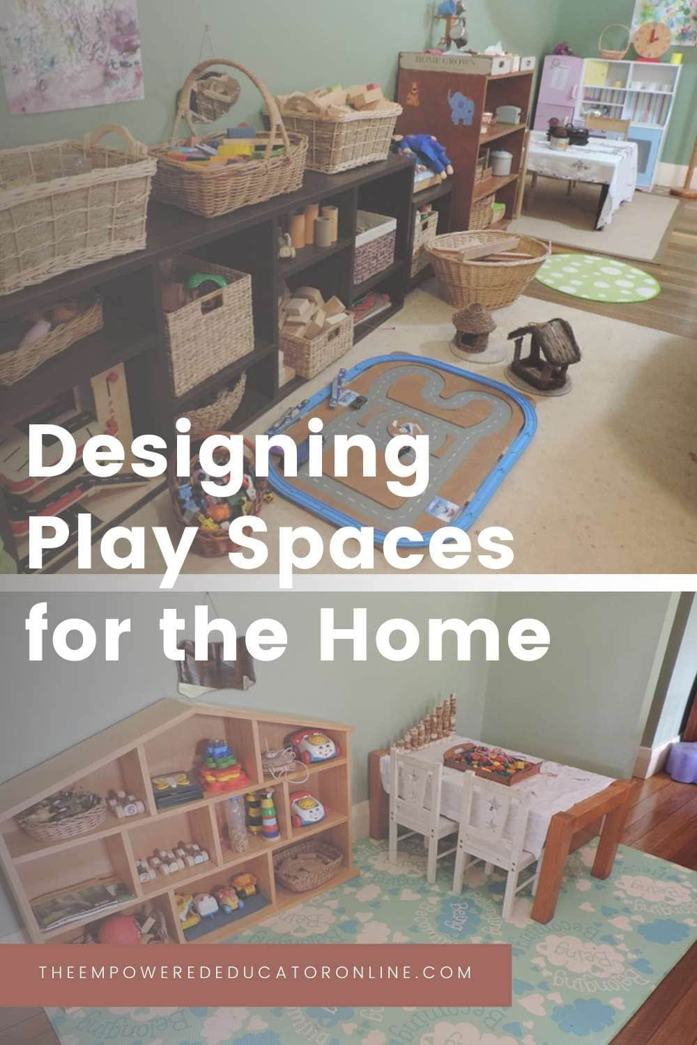 designing play spaces for the home